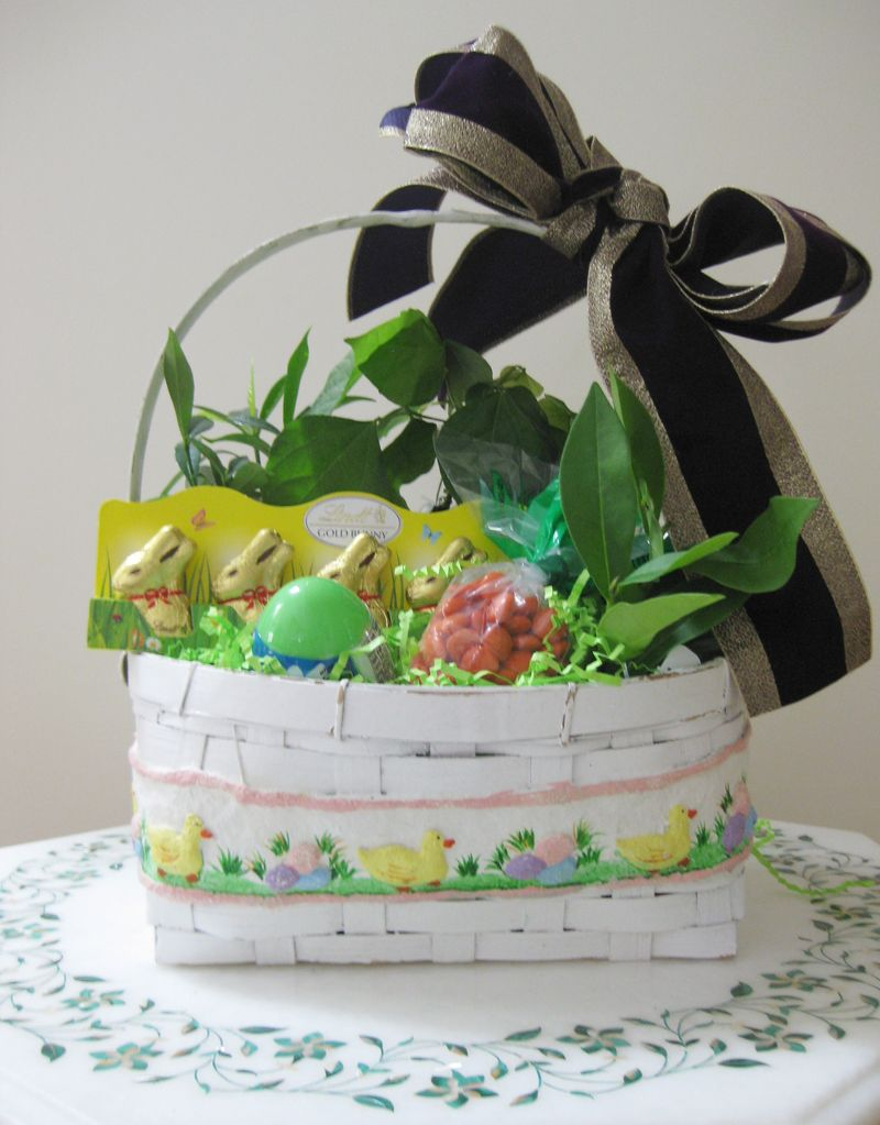 Go-green-easter-gift-basket