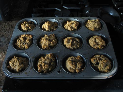 Oat-bran-muffins-right-out-of-oven