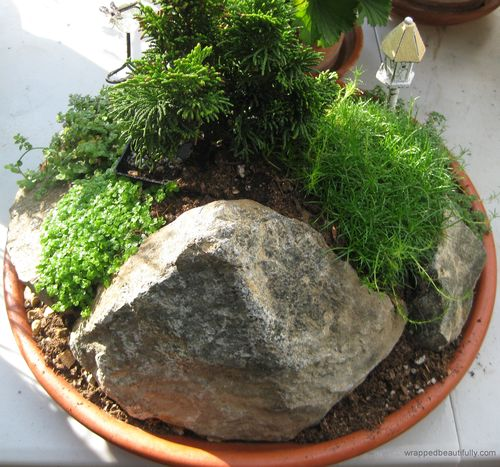 Garden Ideas Miniature Zen Fairy Garden North Side WB