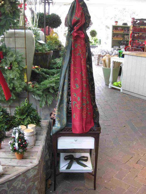 Stonegate Display of Scarfsense Silk Scarves 113012- less pix