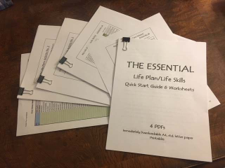 The Essential Life Plan Life Skills Quick Start Guide and Worksheets Rotated 031018